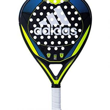 raquetas padel Adidas Match 1.9 – Pala, Adultos Unisex, Amarillo/Azul, 375